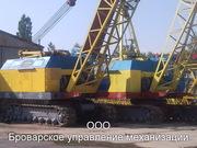Аренда (Услуги) гусеничными кранами МКГ-25БР