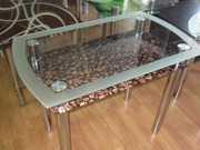 Стеклянные столы в Запорожье.