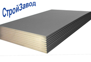 Гипсокартон стеновой Knauf ГКЛ 12, 5х1200х2000 мм