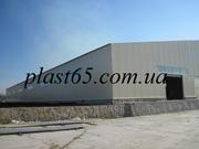 Строительство ангаров в Чернигове,  производственные помещения,  склады.