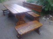Мебель для сада,  зборы,  беседки из дерева.