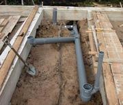 Проводим воду к дому, ж, б кольца любых размеров, все земельные работы.